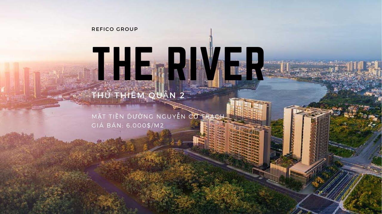 phoi canh du an the river thu thiem